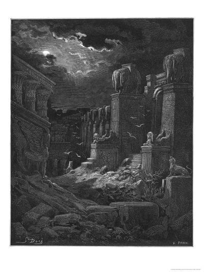 Fall of Babylon-Gustave Dor?-Giclee Print