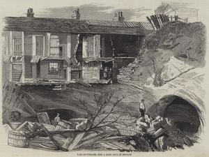Fall of Cottages into a Sand Cave at Reigate