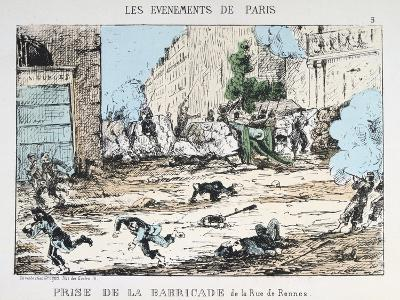 Fall of the Paris Commune, 1871--Giclee Print