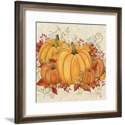 Fall Pumpkins-A-Jean Plout-Framed Giclee Print