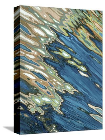 Fall Reflections-Margaret Juul-Stretched Canvas Print