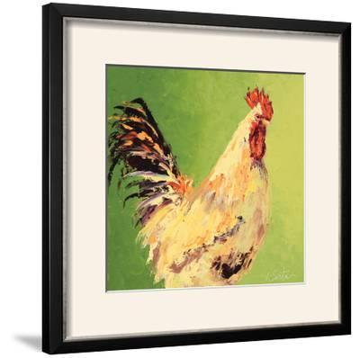 Fall Rooster-Leslie Saeta-Framed Photographic Print