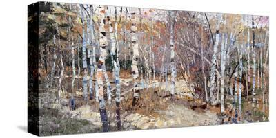 Fall's Voice-Robert Moore-Stretched Canvas Print