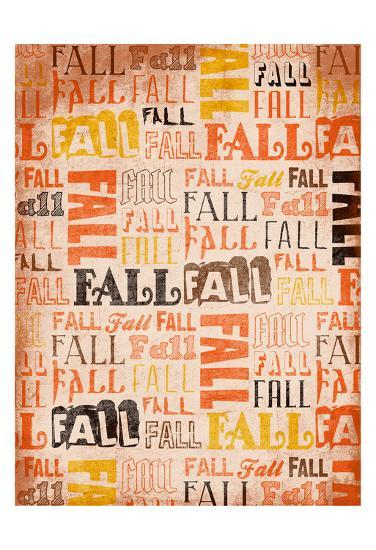 Fall Type-Jace Grey-Art Print