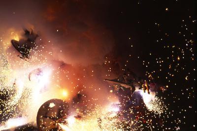 Fallas Celebration, Valencia, Levant, Spain--Photographic Print
