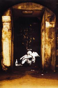 Fallen Angel Smoking Drinking