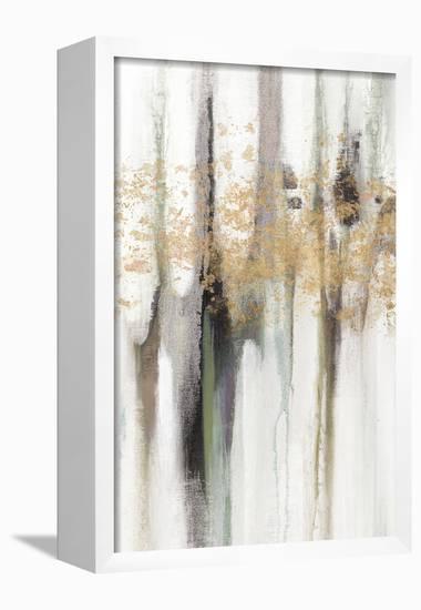 Falling Gold Leaf I-Studio W-Framed Canvas Print