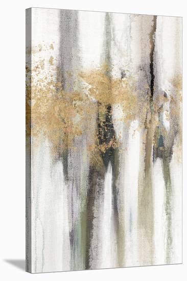 Falling Gold Leaf II-Studio W-Stretched Canvas Print