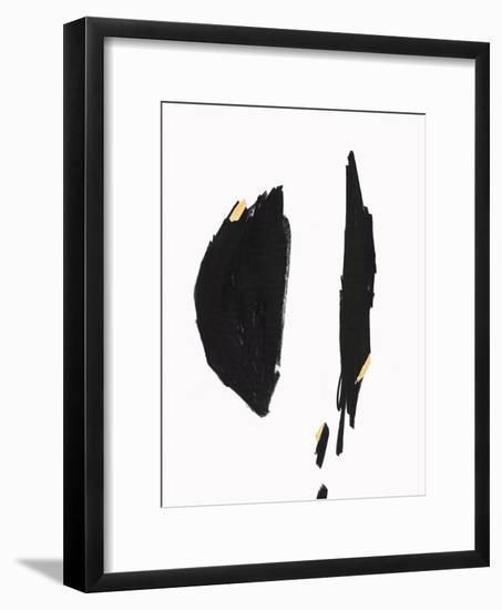 Falling I-PI Studio-Framed Art Print
