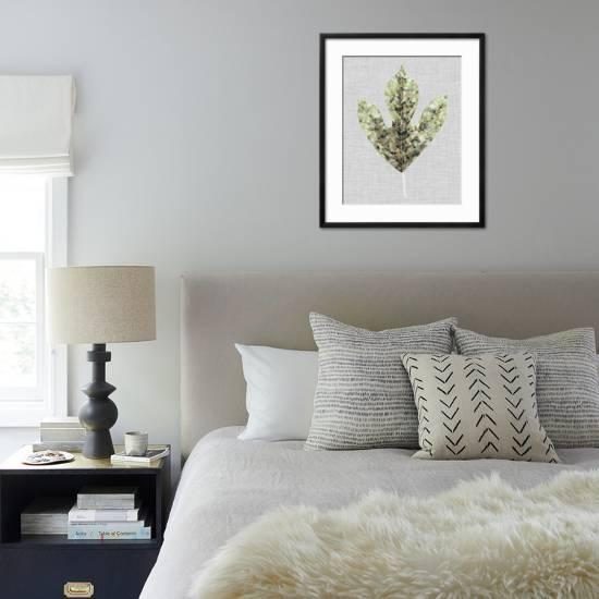 Falling Leaf Mosaic Ii Giclee Print Julie Silver Art Com