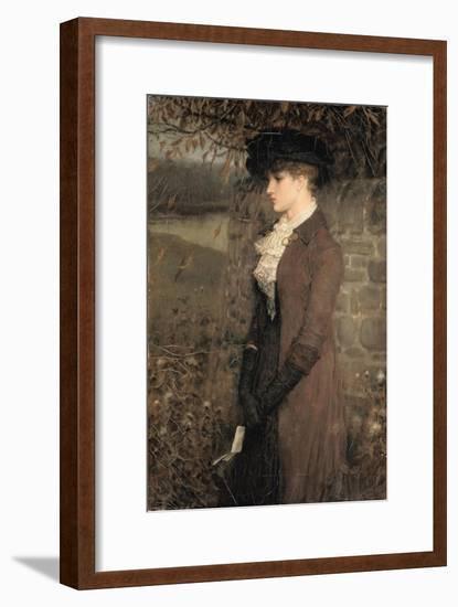 Falling Leaves-George Henry Boughton-Framed Premium Giclee Print