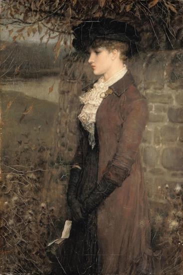Falling Leaves-George Henry Boughton-Giclee Print