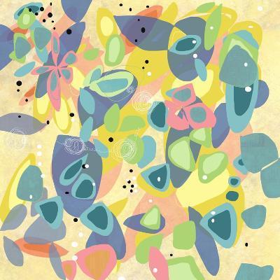 Falling on Water 1-Jan Weiss-Art Print