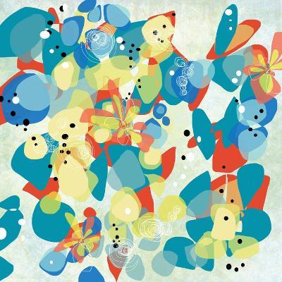 Falling on Water 2-Jan Weiss-Art Print