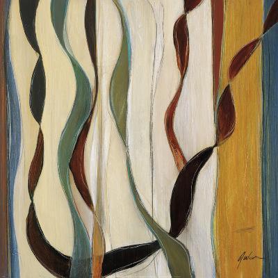 Falling Ribbons II-Judeen-Art Print