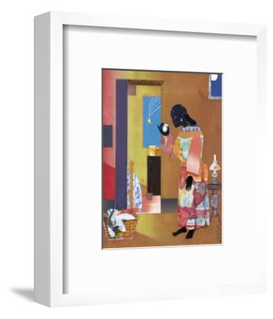 Falling Star, c.1979-Romare Bearden-Framed Art Print