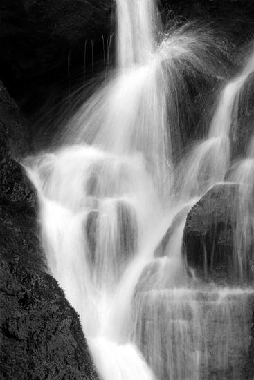 Falling Water IV BW-Douglas Taylor-Photographic Print