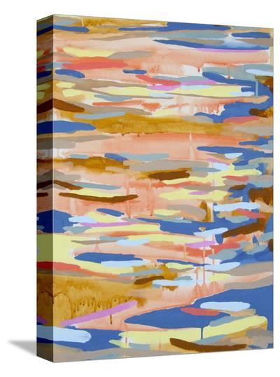 Falling Water-Kelly Johnston-Stretched Canvas Print
