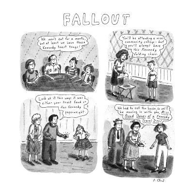 Fallout - New Yorker Cartoon-Roz Chast-Premium Giclee Print