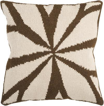 Fallow Petal Down Fill Pillow - Chocolate--Home Accessories