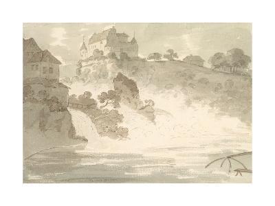 Falls at Schauffhausen, 1782-Sir George Howland Beaumont-Giclee Print