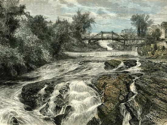 Falls of Lorette Canada, 19th Century--Giclee Print