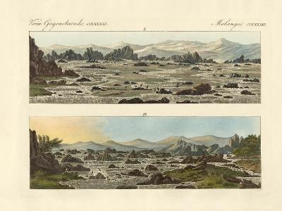 Falls of the Nile at Syene--Giclee Print
