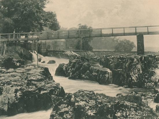 'Falls of the Wharfe', 1902-Unknown-Photographic Print
