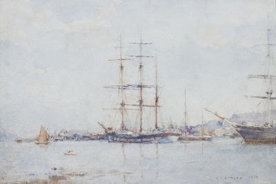 Falmouth Bay, 1925-Henry Scott Tuke-Giclee Print