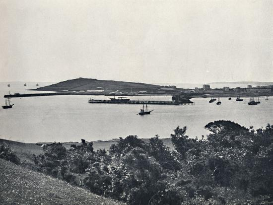 'Falmouth - General View, from Pendennis', 1895-Unknown-Photographic Print