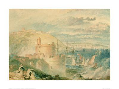 Falmouth Harbour-J^ M^ W^ Turner-Giclee Print