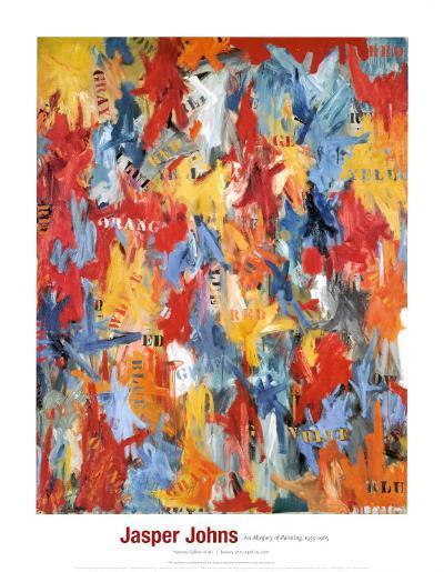 False Start, 1959-Jasper Johns-Art Print
