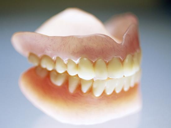False Teeth-Lawrence Lawry-Photographic Print