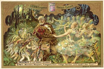 Falstaff Attacked by the Fairies--Giclee Print