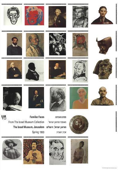 Familiar Faces-Unknown-Art Print