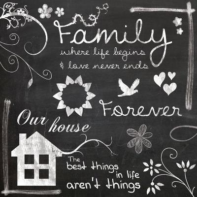 Family Chalk-Lauren Gibbons-Art Print