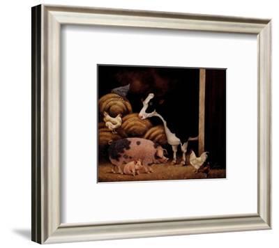 Family Farm-Lowell Herrero-Framed Art Print