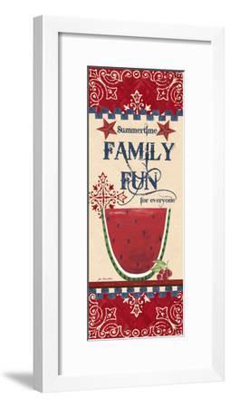 Family Fun-Jo Moulton-Framed Art Print
