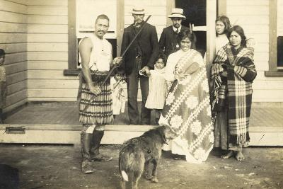 Family Group, C.1920--Photographic Print