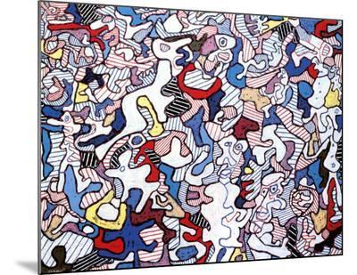 Family Life, August 10, c.1963-Jean Dubuffet-Mounted Print