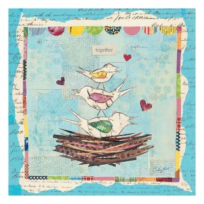 Family of Love Birds-Courtney Prahl-Premium Giclee Print