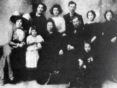 Family of the Artist Marc Chagall, 1890--Photographic Print