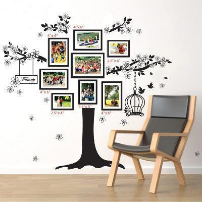 Family Photo Tree--Wall Decal