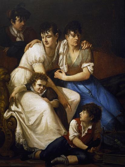 Family Portrait, 1807-Francesco Hayez-Giclee Print