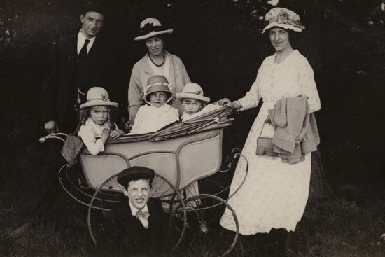Family Portrait, 1920--Photographic Print