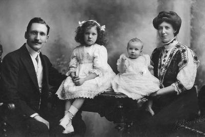 Family Portrait, C1900s-C1910S--Photographic Print