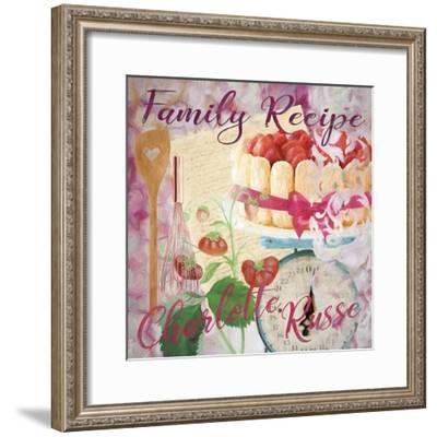 Family Recipe Charlotte Russe-Cora Niele-Framed Giclee Print