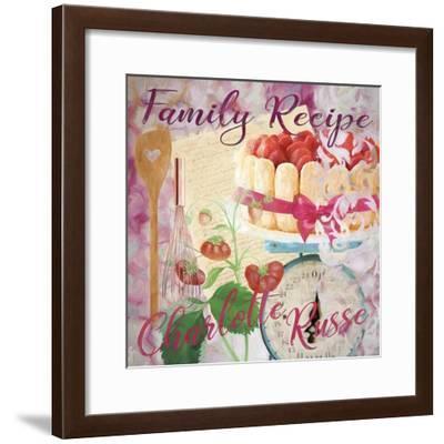 Family Recipe Charlotte Russe-Cora Niele-Framed Giclee Print
