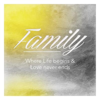 Family Sun-Jace Grey-Art Print