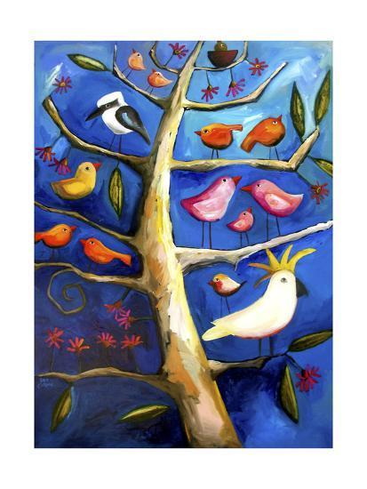 Family Tree #2-Sara Catena-Giclee Print